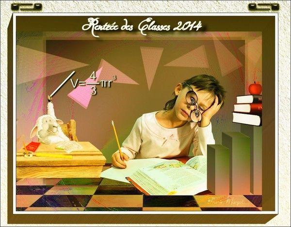 Rentrée des classes 2014